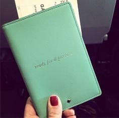 Kate Spade Passport holder