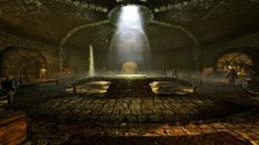 The Ragged Flagon - Cistern, home of the Thieves Guild