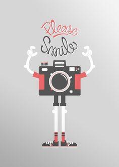 Por favor, ¡sonríe! :)