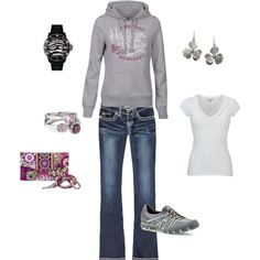 cute and comfy, created by jcheek516 on Polyvore