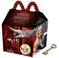 """""""American Horror Story: Hotel"""" Happy Meal"""