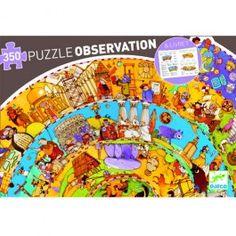 djeco puzzel observation geschiedenis (350st)