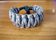 Survival bracelet King Cobra weave 3 colours