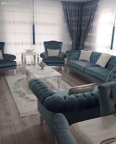 Superbes modèles du salon moderne pour 2018 Beautiful models of the modern living room for 2018 Living Room Sofa Design, Living Room Decor Cozy, Home Room Design, Home Living Room, Living Room Designs, Classy Living Room, House Rooms, Home Decor, Classic Furniture