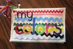 T's Simple Creations: Colors Quiet Book