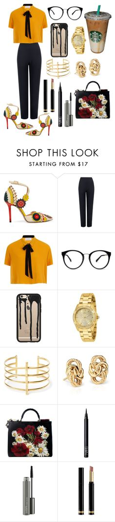 """Off Too Work!"" by melilove19 ❤ liked on Polyvore featuring Charlotte Olympia, WearAll, Elvi, Casetify, Invicta, BauXo, Blue Nile, Dolce&Gabbana, NARS Cosmetics and MAC Cosmetics"