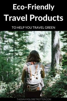 Looking for zero waste travel essentials? Here are the best eco-friendly travel products, accessories and toiletries to minimize plastic and be a more sustainable traveler. #ecofriendlytravelproducts #zerowastetravelessentials #sustainabletravel #plasticfreetraveltips | Sustainable Travel Items Gifts Checklist | Plastic Free Travel Toiletries | Zero Waste Travel Kit Plane Carry On Bag Packing List Ideas | Green Travel Tips Packing Tips For Travel, Travel Advice, Travel Essentials, Packing Lists, Backpacking Tips, Travel Quotes, Traveling Tips, Vacation Quotes, Hiking Gear
