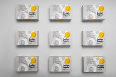 Europapier's New Design Papers Collection Has Arrived! | Design & Paper Tool Design, News Design, Paper Logo, Central And Eastern Europe, Paper Packaging, Scroll Design, 2020 Design, Foil Stamping, Packaging Design Inspiration