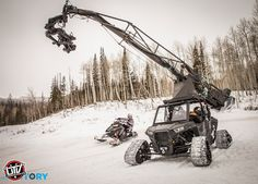 Camera RZR a One Of a Kind Off-Road Mobile Crane Camera Rig: