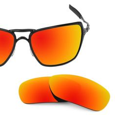 fc6f265b28 Revant Replacement Lenses for Oakley Inmate Polarized Fire Red. Fire Red  MirrorShield™ - Polarized Color. Fire Red MirrorShield™ (compare to Oakley  Fire ...