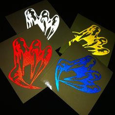 USA Leading Custom Stickers Company Proud To Offer Their Services - Custom reflective helmet decals motorcycle