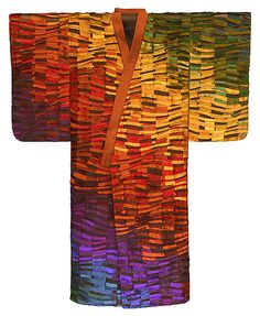 Spectra Kimono: Tim Harding: Fiber Wall Art - Artful Home