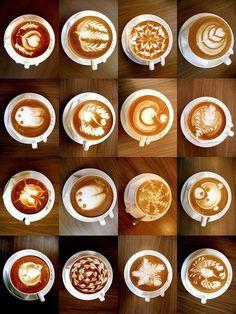 Coffee art! Amazing :-)