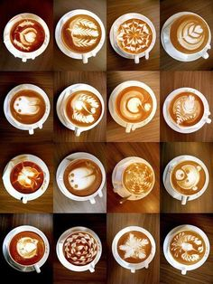 Coffee art! Amazing :-)