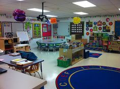 head start classroom layout | More Than ABCs and 123s: Preschool ...