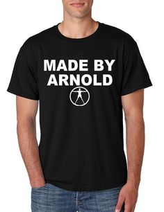Men's T Shirt Made By Arnold Cool Popular Graphic T Shirt #westworld #arnold #mentshirt #tshirt #tvshow