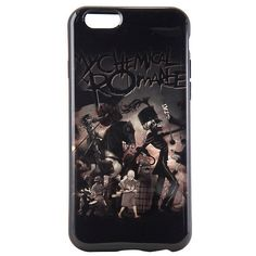 My Chemical Romance Black Parade iPhone 6/6s Case Hot Topic ($10) ❤ liked on Polyvore featuring accessories, tech accessories, phone cases, phone and my chemical romance