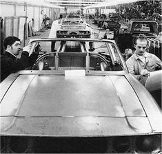 The were an exciting time for Triumph, which saw great expansion at the Canley factory. Below are some photographs taken at the cars-per-year Triumph Tr3, Triumph Spitfire, Old Photos, Vintage Photos, Fifth Gear, Triumph Sports, British Sports Cars, Diesel Cars, Car Engine