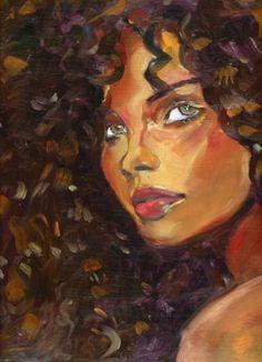 Ideas for nature artwork illustration hair art Black Girl Art, Black Women Art, Art Women, Art Afro Au Naturel, Art Sketches, Art Drawings, Pencil Drawings, Art Noir, Arte Black