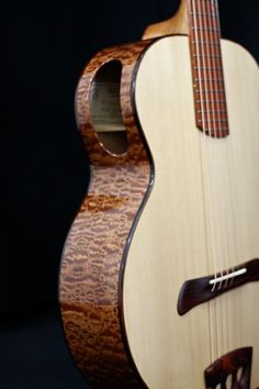Cocobolo and Port Orford cedar by Batson Guitars.