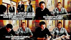 Psych oxygen drought hold your breath do your part...... Hahaha this is probably one of the best lines!