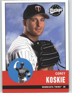 2001 Upper Deck Vintage 125 Corey Koskie - Minnesota Twins (Baseball Cards) -- Visit the image link more details.