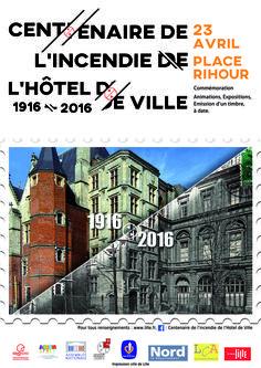 Affiche réalisée pour la mairie de quartier Lille Centre