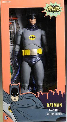1966 Batman 1/4 scale action figure by NECA