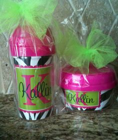 Kids Party Favors - Personalized Snack cups