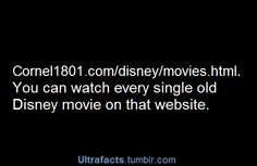 Watch Disney movies