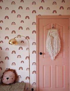 Children's Rainbow Bedroom Reveal Big Girl Bedrooms, Little Girl Rooms, Baby Bedroom, Bedroom Decor, Childrens Room, Ideas Habitaciones, Rainbow Bedroom, Decoration, Room Inspiration