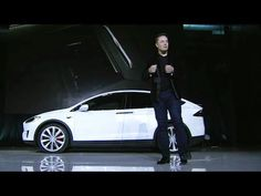 Awesome Tesla 2017: Elon Musk Introduces the TESLA X ELECTRIC SUV Check more at http://24cars.top/2017/tesla-2017-elon-musk-introduces-the-tesla-x-electric-suv/
