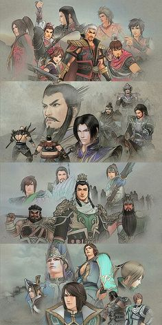 Dynasty Warriors - Wu, Wei, Shu, Jin