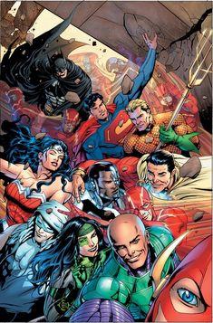 Justice League #34 - Dale Eaglesham.