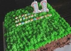 Minecraft-Birthday-Cake Minecraft Birthday Cake, Easy Minecraft Cake, Minecraft Crafts, Minecraft Party, Minecraft Skins, Birthday Cakes, Easy Party Food, Cake Recipes From Scratch, Chocolate Sweets