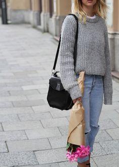 Mija | creatorsofdesire.com#grey sweater