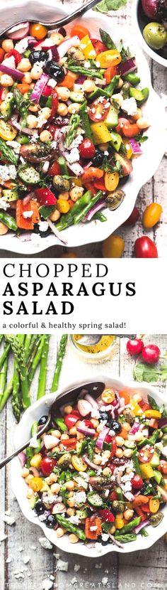 Chopped Asparagus Salad,