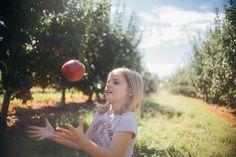 """""""We started welcoming fall at the orchard when we moved to the mountains."""" #FamilyTrails"""
