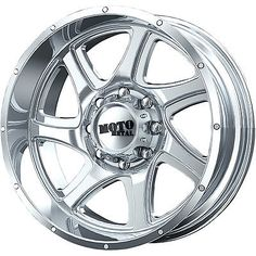20x9 PVD Chrome Moto Metal MO976 5x150 25 Rims Open Country MT 33 Tires