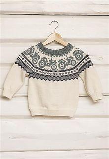 Ravelry: Tractor organ pattern by Brit Frafjord Ørstavik / Liv Stangeland Fair Isle Knitting, Knitting Socks, Free Knitting, Knitting For Kids, Knitting Projects, Baby Knitting Patterns, Baby Patterns, Handgestrickte Pullover, Ravelry