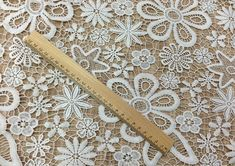 Width 49.21 inches lace fabric,flower embroidered lace,floral lace trim,3D lace fabric,scalloped trim lace for DIY dress,125CM
