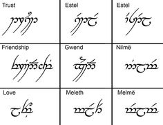 When I get married I want matching LOTR ring tattoos instead of a wedding band using the elvish translation of love Elbisches Tattoo, Elvish Tattoo, Colar Bone Tattoo, Tolkien Tattoo, Friendship Symbols, Friendship Love, Friendship Symbol Tattoos, Lord Of The Rings Tattoo, Freundin Tattoos