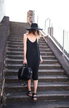 Black Slip Dress (1)
