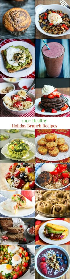 100+ Healthy Holiday Breakfast and Brunch Recipes from Jeanette's Healthy Living (and thanks for including a couple of my recipes!)