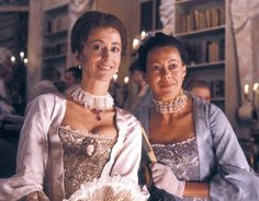 1985 - 'Love's Labour's Lost'  Maureen Lipman as the Princess of France with Jenny Agutter as Rosaline    BBC