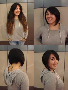Sandra's Graduated Bob Haircut