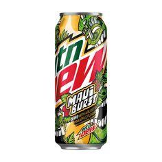 Mtn Dew Flavors, Spending App, Gum Arabic, Mountain Dew, Natural Flavors, Maui, Soda, Pineapple, Exotic