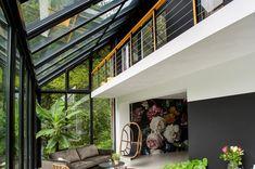 Serre Surhuisterveen - De Boer Serrebouw Spanish Architecture, Pergola, Coastal Homes, Sunroom, My Dream Home, Sweet Home, Stairs, Room Decor, Exterior