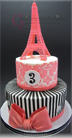 Paris Themed Cakes on Craftsy | Flickr - Photo Sharing!