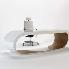 white and purple Contemporary and Elegant Office Desk for Your ...